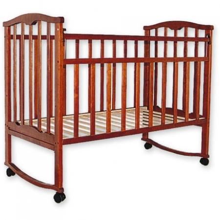Детская деревянная кроватка Золушка-1