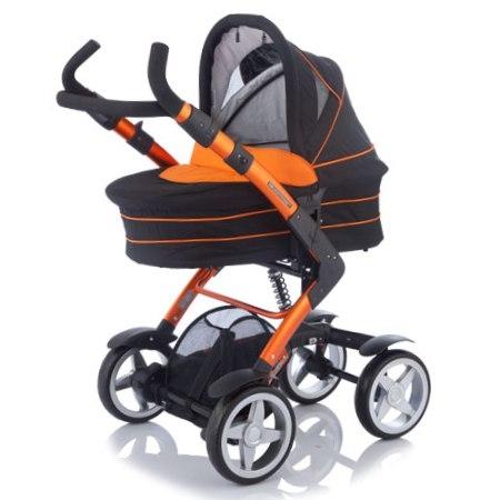 Коляска для новорожденных Jetem 4-Tec 2 в 1