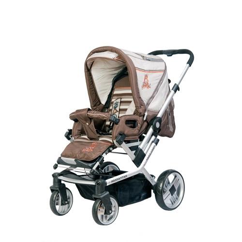 Коляска для новорожденных Baby Care Manhattan 4S 2 в1