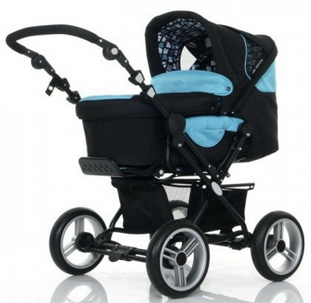 Коляска для новорожденных Jetem Pramy Luxe 2в1