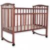 Детская деревянная кроватка Золушка-1 / Цвет Орех