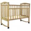 Детская деревянная кроватка Золушка-1 / Цвет Светлая