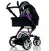 Коляска для новорожденных Jetem 3-Tec 2 в 1 / Цвет Purple Black