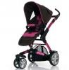 Коляски для новорожденных Jetem 3-Tec / Цвет Raspberry Dark-Brown