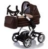 Коляски для новорожденных  Jetem 4-Tec / Цвет Sand dark brown