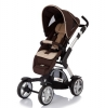 Коляска для новорожденных Jetem 4-Tec / Цвет Sand dark brown