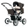 Коляска для новорожденных Jetem Pramy Luxe Luxe / Цвет Crispy