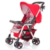 Прогулочная коляска Baby Care Avia легкая / Цвет Red (Ред+полоски)