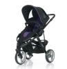 Коляска для новорожденного Jetem Cobra 2 в 1 / Цвет Purple Black
