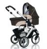 Коляска для новорожденного Jetem (FD Design) Cobra 2 в 1 / Цвет Sand Dark Brown
