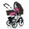 Коляска для новорожденного Jetem (FD Design) Cobra 2 в 1 / Цвет Raspberry Dark Brown