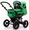 Коляска для новорожденных Jetem Pramy Luxe 2в1 / Цвет Avocado