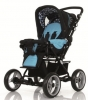 Коляска для новорожденных Jetem Pramy Luxe 2в1 / Цвет Ocean