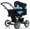 Коляски для новорожденных Jetem Pramy-Luxe / Цвет Ocean