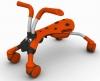 Каталка QuickSmart Scramble Bug / Цвет orange/charcoal (Оранж)