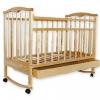 Детская деревянная кроватка Золушка-2 / Светлая