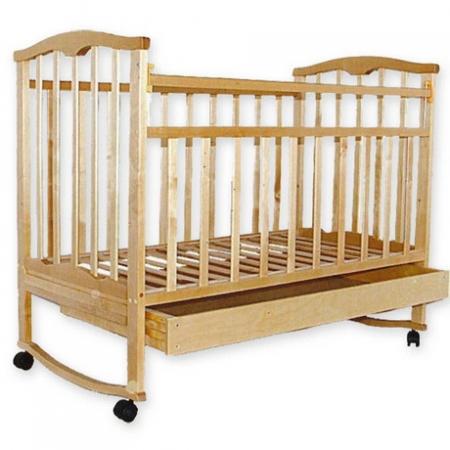 Детская деревянная кроватка Золушка-2